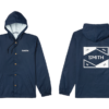 HOODED COACHS JACKET Classic Navy